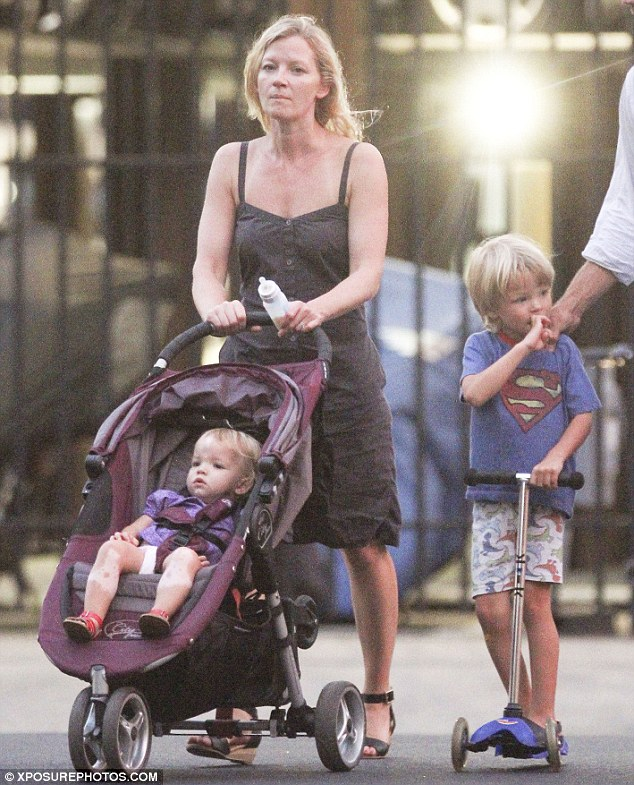 Working mom: Gretchen makes sure she only takes job in New York so as to not disrupt her family life