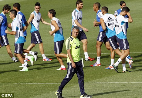 Experience talking: Jose Mourinho knows the benefits of the Premier League