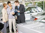 Proving popular: A motor tends to be the second priciest purchase after a house - and an increasing number are turning to car finance deals to get a new vehicle