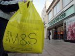 Carry on: Marks & Spencer is the only supermarket to charge for its plastic bags