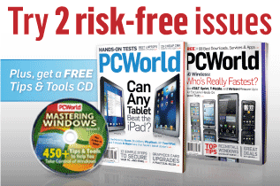 Try 2 risk-free issues of PCWorld