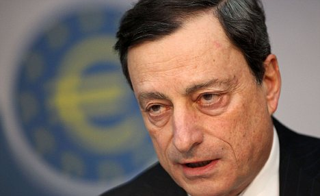 Absent: Mario Draghi, President of the European Central Bank, may be about to launch a new rescue bid for the single currency.