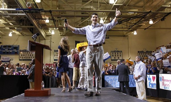 Paul Ryan considered 'conservative'; Sarah Palin was 'inexperienced'