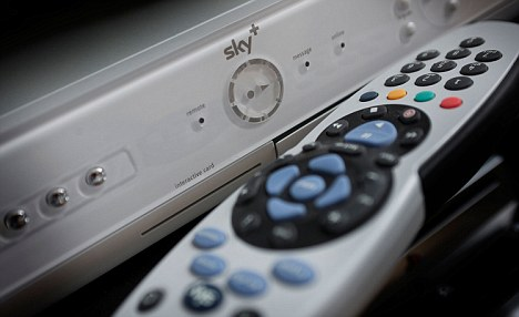 Misleading: The Sky advert has been banned by the ASA after rival BT complained.