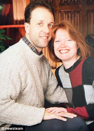 Richard and his wife before the brain tumor struck. He was told he had been just six months from death
