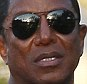 Olive branch: Jermaine Jackson, pictured in Calabasas yesterday says he is retracting his signature from the lawyer's letter