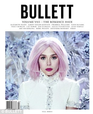 Cover girl: The actress's shoot and interview features in the current edition of the magazine