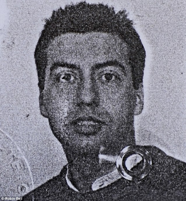 Decades-old picture of murder suspect Jean-Louis Cayrou