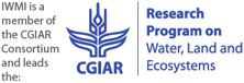 IWMI is a member of the CGIAR Consortium and leads the CGIAR Research Program on Water, Land and Ecosystems