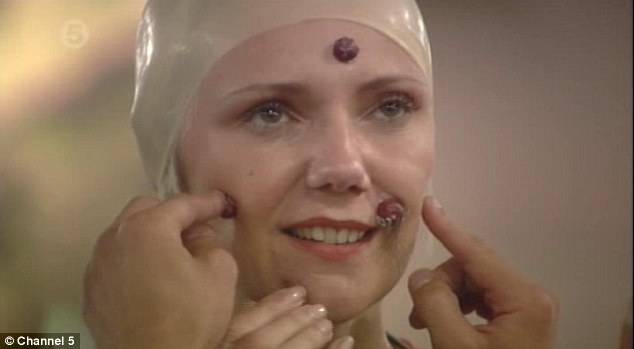 Thought you were beautiful? Journalist Samantha Brick is forced to wear warts on her face and a bald wig as she forgoes her vanity for latest task