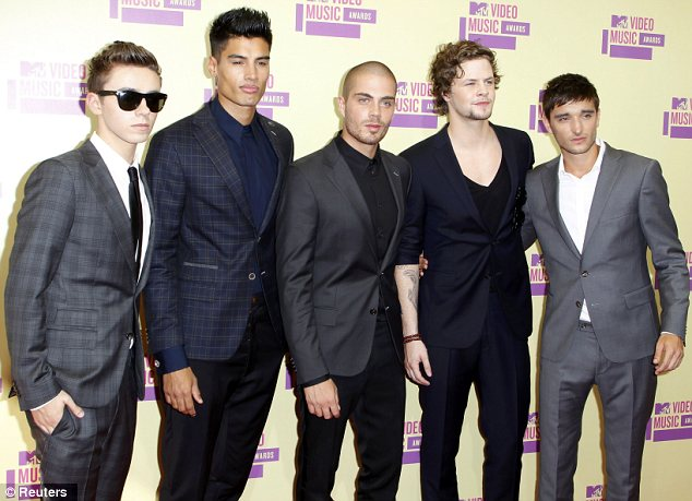 Breaking America: Another British export was on hand in the form of The Wanted