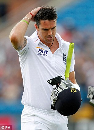 Uncertain future: Pietersen is scheduled to hold further talks with England's management
