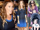 She really is a Super Mom! No rest for Sarah Jessica Parker as she transforms from Fashion Week star to doting mother