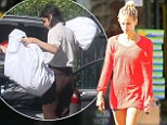 Is today the big day for Peaches Geldof? The new mum loads dresses and suits into her car after tweeting imminent marriage