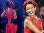 He's a real Rude Boy! Rihanna gets more than she bargained for as rapper A$AP Rocky gropes her on stage at the VMAs