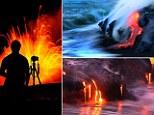 Fierce: Lava hitting water