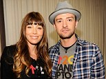 Together again: Jessica Biel and Justin Timberlake attended Stand Up To Cancer at The Shrine Auditorium in Los Angeles, California yesterday
