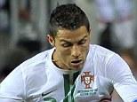 Goal machine: Cristiano Ronaldo scored for Portugal in Friday's 2-1 win over Luxembourg