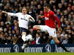 Nightmare: Phil Jones' young career at Manchester United has been marred by injury