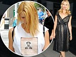 Pregnant Claire Danes transforms from her drab day wear to shine at the Homeland new season premiere