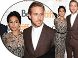 A-list romance! Eva Mendes and Ryan Gosling are a dashing red carpet couple at The Place Beyond The Pines Toronto debut