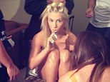 She's Taken It Off! Ke$ha goes nude (and then tweets the picture) ahead of MTV VMA awards