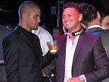 Pauly D and The Wanted partied together in Hollywood