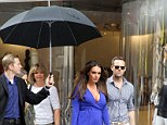 A coiffed Tamara Ecclestone left frustrated by New York weather