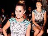Fifties fashion darling! Lauren Conrad proves retro rules as she swans to front row at Lela Rose show