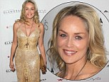 Her Basic Instincts are golden! Sharon Stone dazzles at Macy's Fashion Week charity event