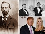 Humble beginnings: Donald Trump's glittering dynasty began with a seedy restaurant