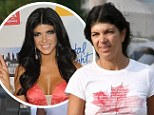 Who's that girl? Teresa Giudice is almost unrecognisable from her usual glamorous self as she steps out make-up free