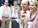 Life's a picnic for Prince Albert of Monaco and his glamorous wife Charlene as they attend annual bash