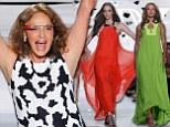 Diane Von Furstenberg's technicolour dream unfolds New York Fashion Week