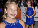 Sapphire starlet: Jackie Evancho makes her move to the big screen at the Toronto International Film Festival