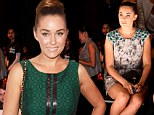 Fifties fashion darling! Lauren Conrad proves retro rules as she swans to front row in New York