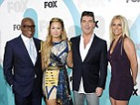 On screen antics: Simon Cowell and LA Reid are causing on screen fireworks with new recruits Demi Lovato and Britney Spears