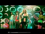 Britney Spears bares those famous abs as she premieres Twister Dance video ... but is it appropriate for children?