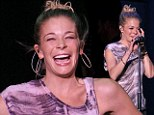 LeAnn Rimes performed her first concert after checking out of rehab in Eau Claire, Wisconsin