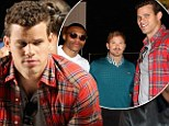 Meet New York's newest (and unlikeliest) fashionista! Kris Humphries takes pals on boy's day out to Lacoste show