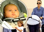 Baby's first flight! Kourtney Kardashian's daughter Penelope jets to the Big Apple with reality star and brother Mason