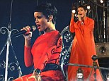 Paralympics Closing Ceremony: Rihanna becomes a punk pirate princess as she covers up for Coldplay duet