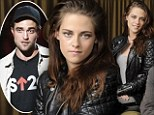 Kristen Stewart discusses Robert Pattinson for the first time as she forces a smile at film photocall