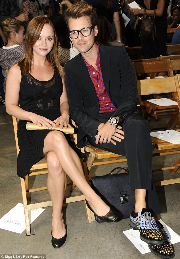 Celeb-packed: Christina Ricci and Brad Goreski were at the Thakoon Show Spring Summer show