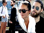 Scarlett who? Jared Leto now steps out with a leggy brunette after getting with cosy with ex-Johansson at Democratic convention