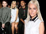 Isabel Lucas attended the Y-3 10th Anniversary Collection at St. John's Center in New York City