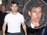 A shadow of his former self: Gaunt Tom Cruise drops even more weight under the strain of his divorce from Katie Holmes