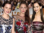 'They're just three girls having a quiet chat': Kristen Stewart, Emma Watson and Jennifer Lawrence forge friendship at TIFF