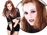 Gossip Girl's Leighton Meester shows off her toned figure in a bra top and hotpants for sexy new shoot