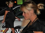 Ready to pop! Pregnant Reese Witherspoon displays her HUGE baby bump as she heads out for a family dinner
